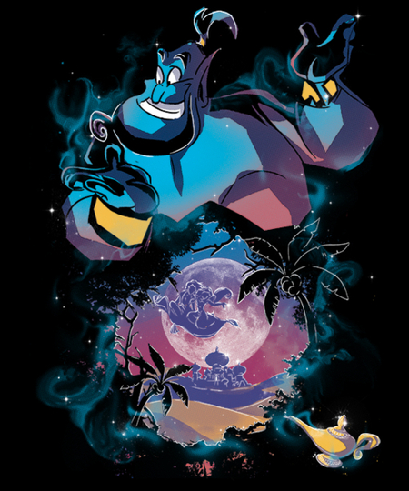 Qwertee: Legend of the Lamp