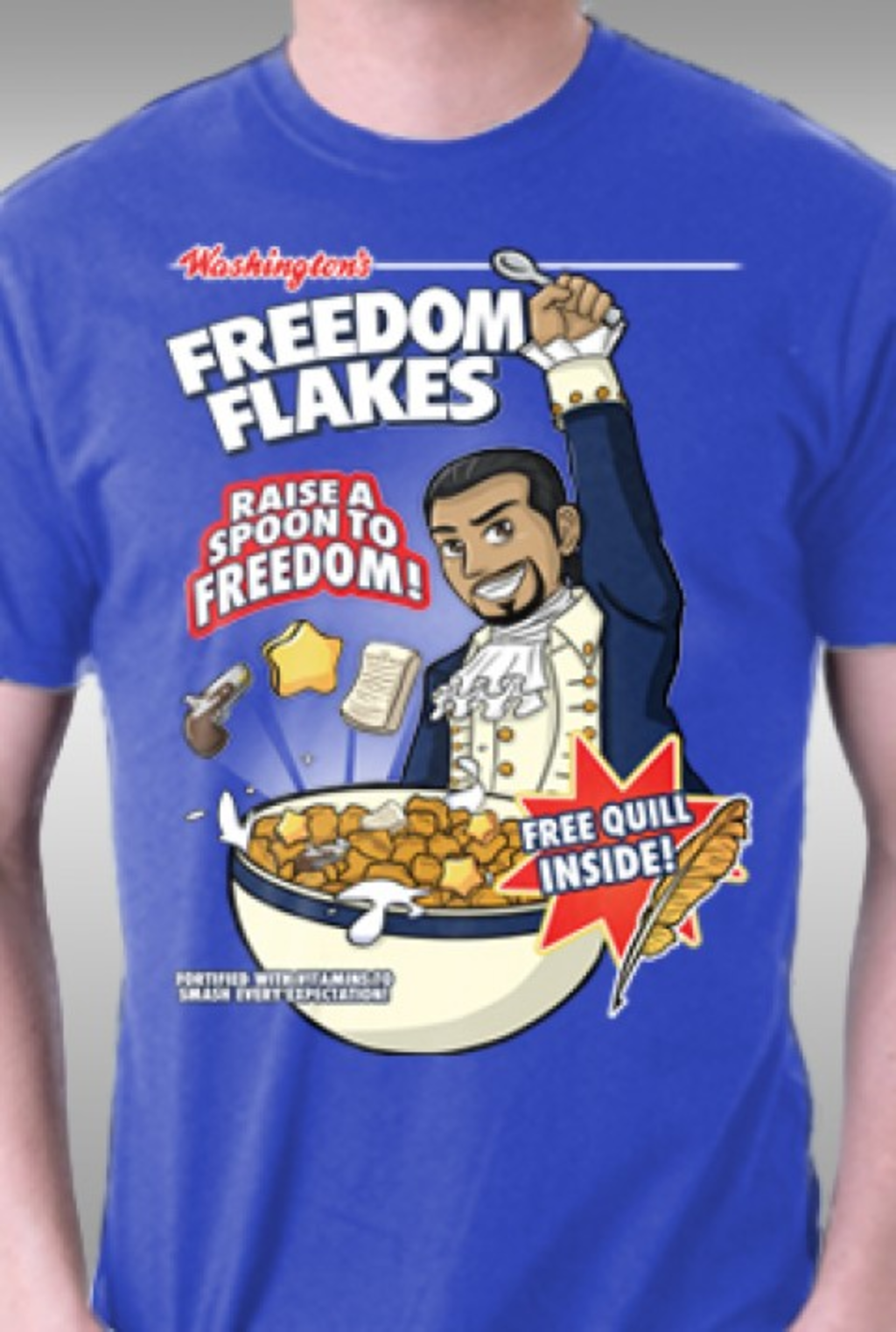 TeeFury: Freedom Flakes