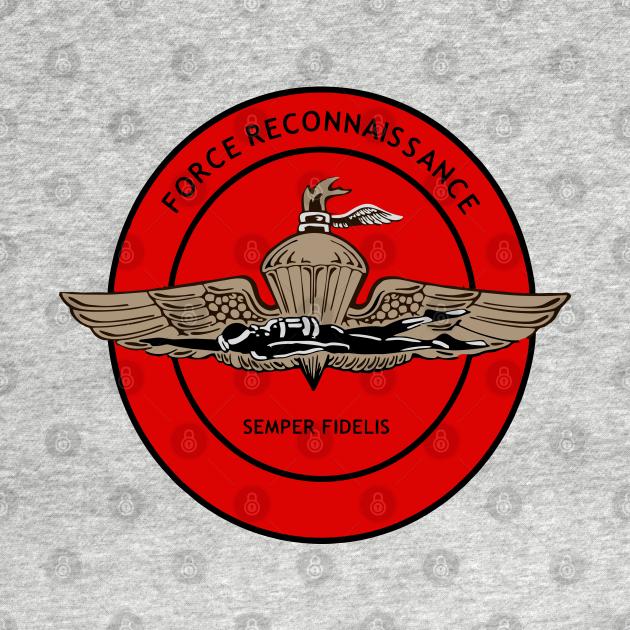 TeePublic: US Marine Corps Force Reconnaissance
