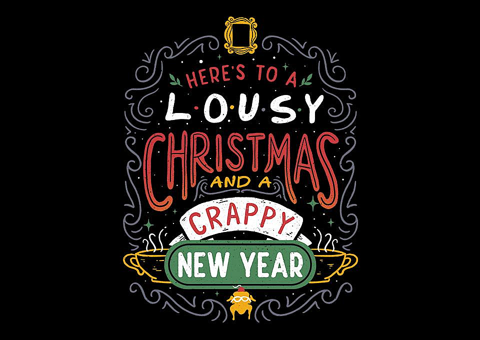 TeeFury: Friendly Christmas