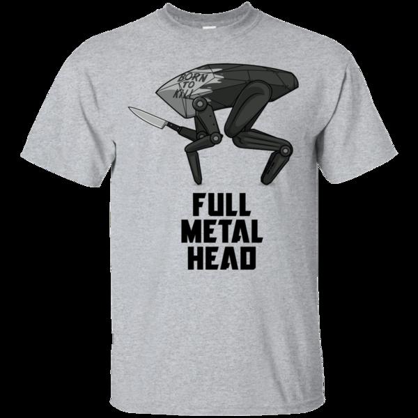 Pop-Up Tee: Full Metal Head