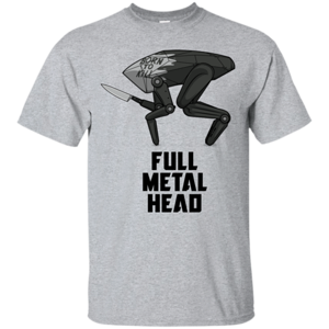 Pop-Up Tee: Full Metal Head