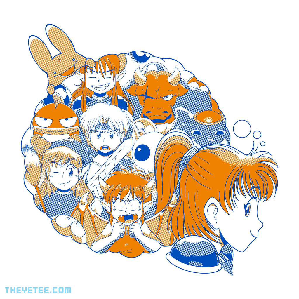 The Yetee: Dreams of Puyo Puyo