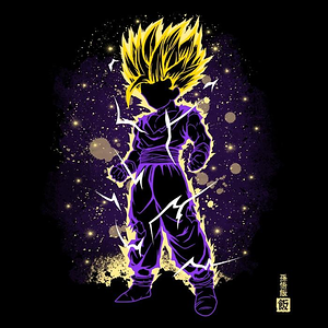 Once Upon a Tee: The Young Saiyan