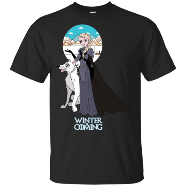 Pop-Up Tee: Elsa is Coming