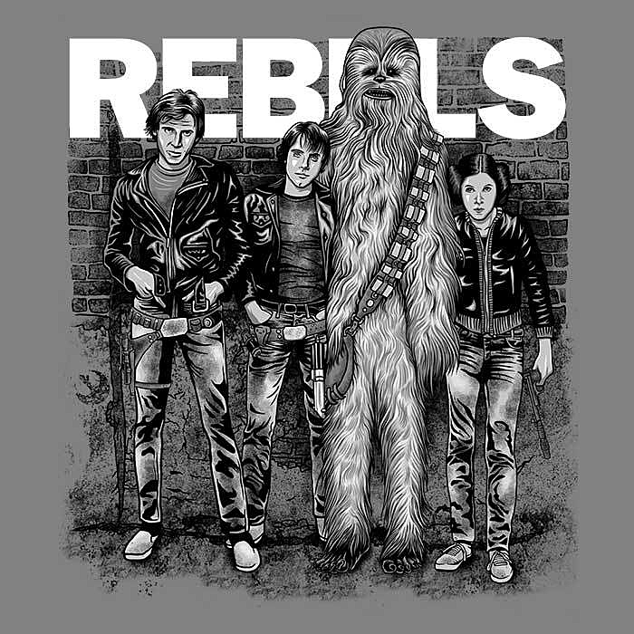 Once Upon a Tee: The Rebels