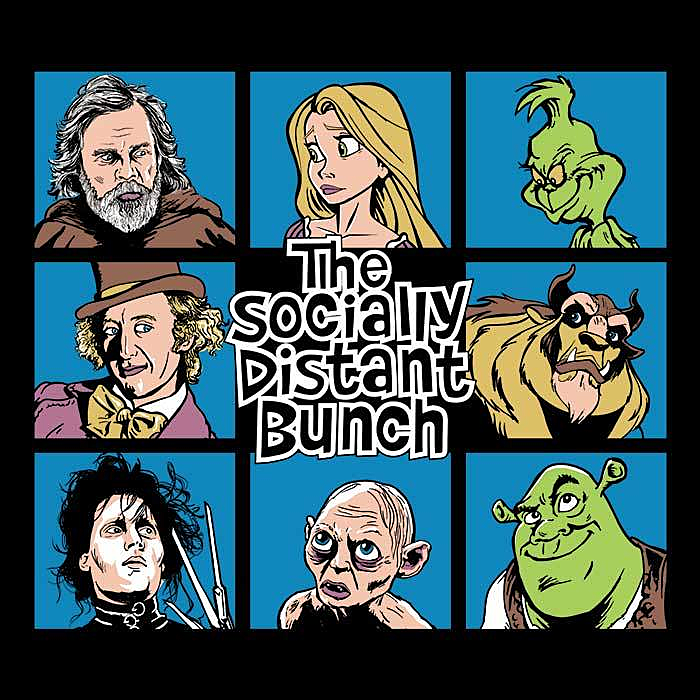 Once Upon a Tee: Social Distance Bunch