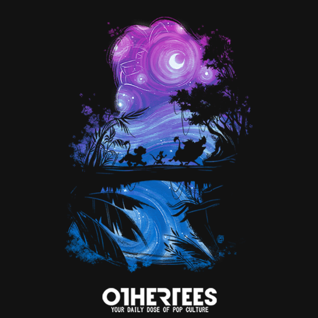 OtherTees: Starry Lion