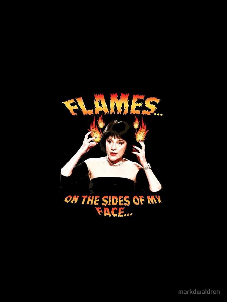 RedBubble: Clue Mrs White Flames