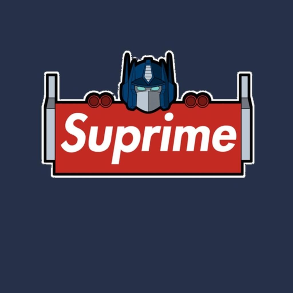 BustedTees: Suprime Robot