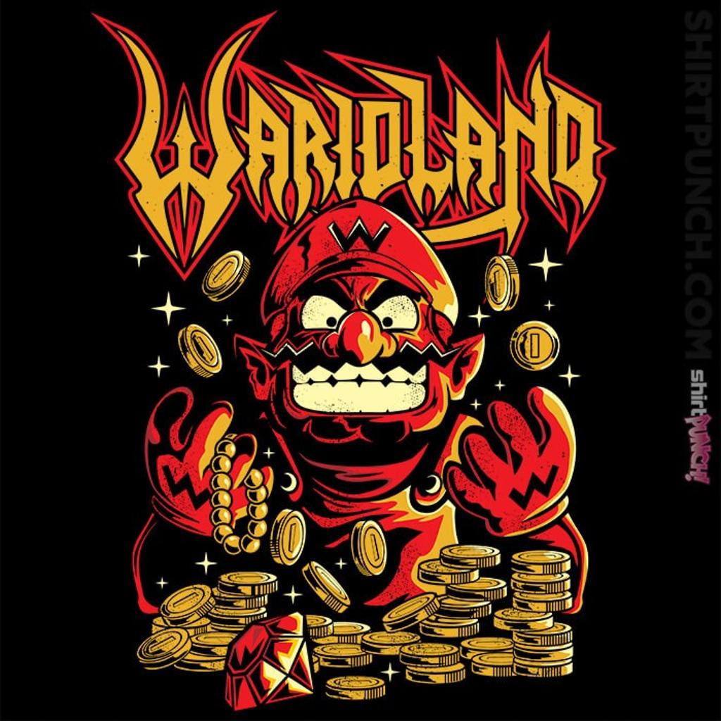 ShirtPunch: Wario Land
