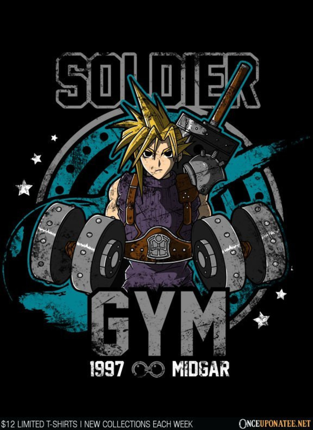 Once Upon a Tee: Soldier Gym