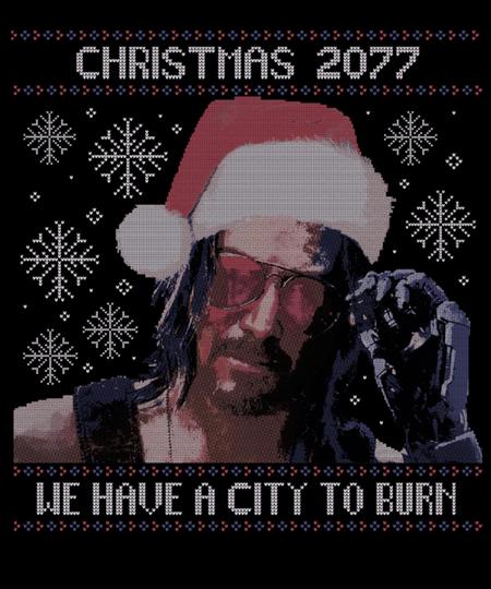 Qwertee: Christmas 2077
