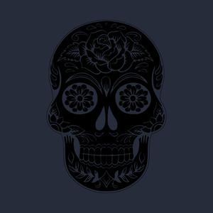 TeePublic: Floral Skull Tattoo