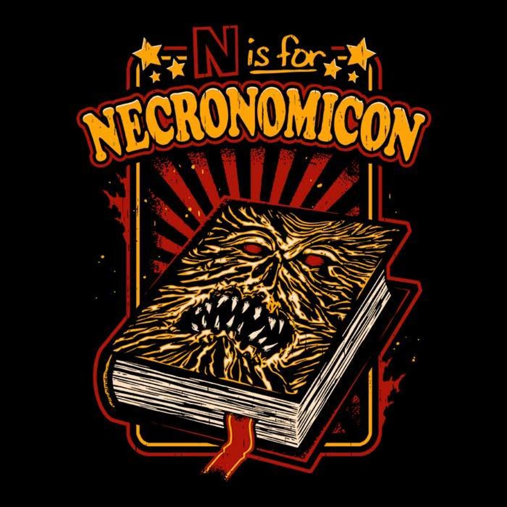 Once Upon a Tee: N is for Necronomicon