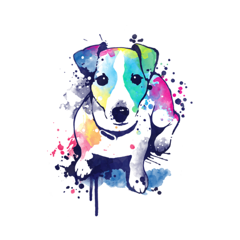 NeatoShop: Watercolor dog