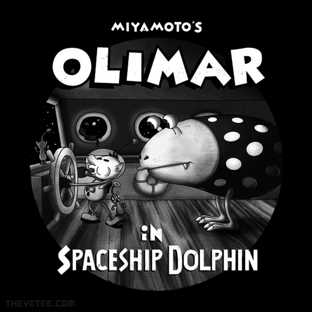 The Yetee: Olimar and Bulborb
