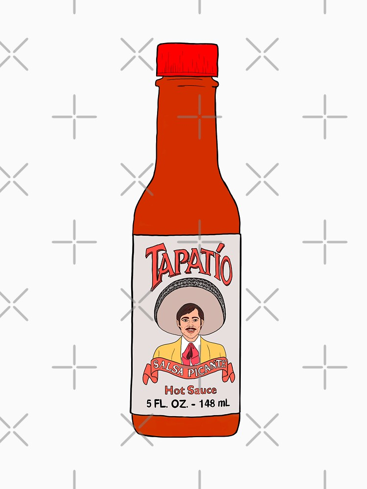 RedBubble: Tapatio hot sauce salsa drawing sticker
