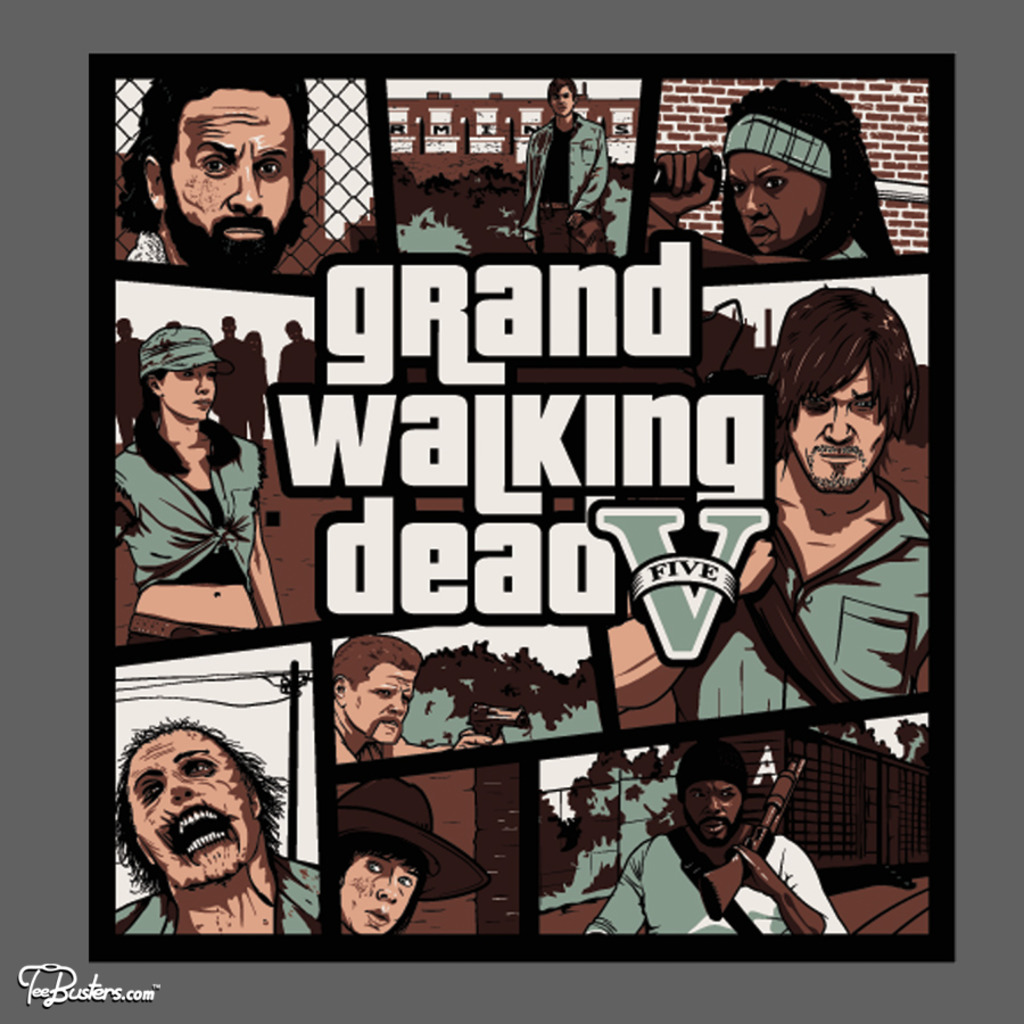 TeeBusters: Grand Walking Dead