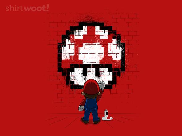 Woot!: Mushroom Graffiti