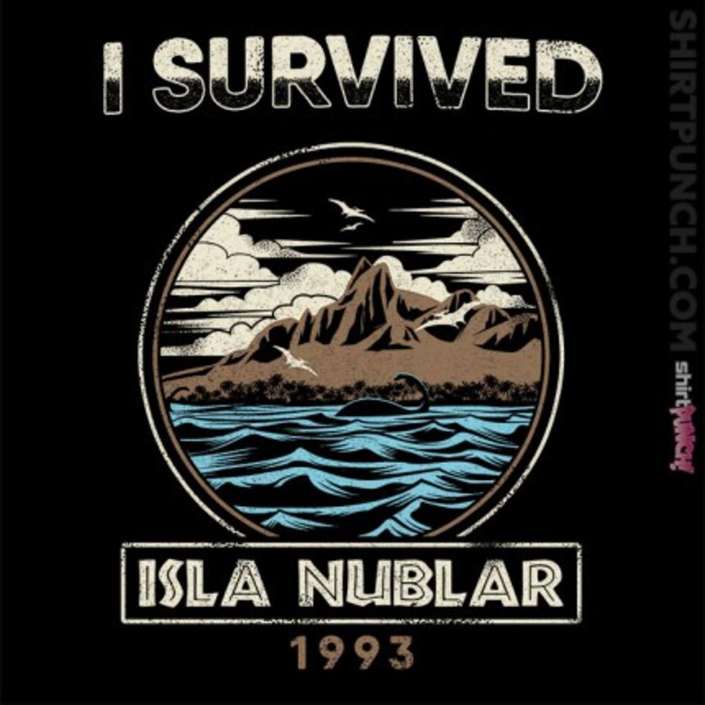 ShirtPunch: Isla Nublar, 1992