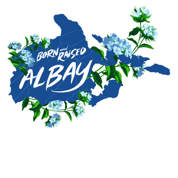 NeatoShop: 003 - Albay - Born & Raised - Blue and White