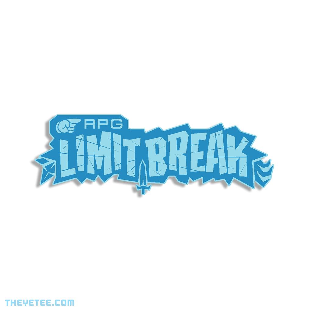 The Yetee: RPG Limit Break 2019 Pin