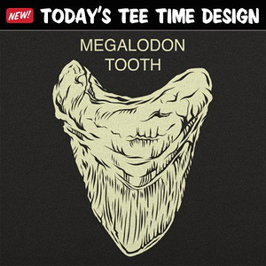 6 Dollar Shirts: Megalodon Tooth