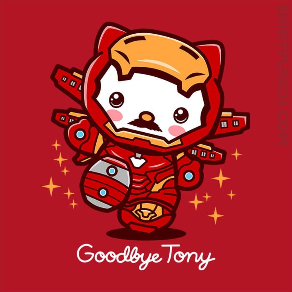 ShirtPunch: Goodbye Tony