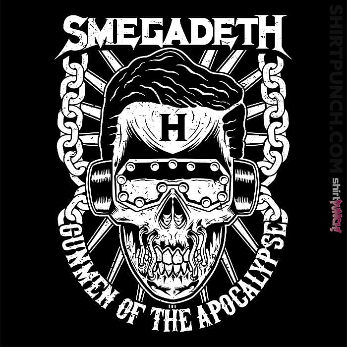 ShirtPunch: Smegadeth