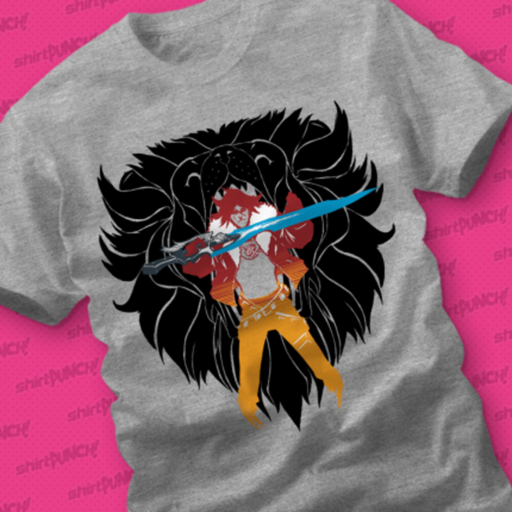 ShirtPunch: The Lion Hearted