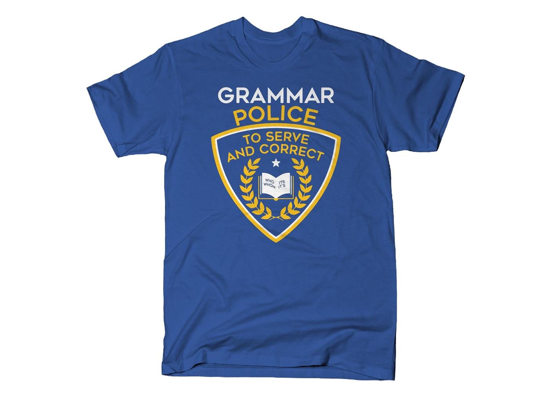 SnorgTees: Grammar Police