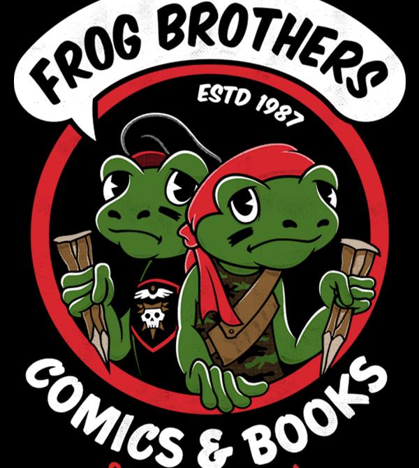 teeVillain: Frog Bros