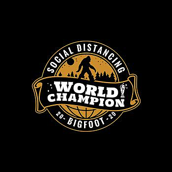BustedTees: Social Distancing World Champ