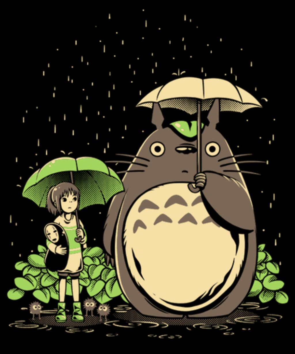 Qwertee: Chihiro and Totoro