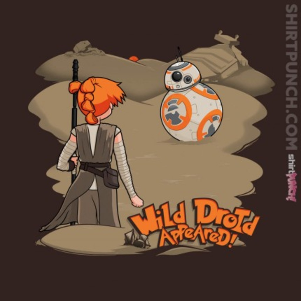 ShirtPunch: Wild Droid Appeared