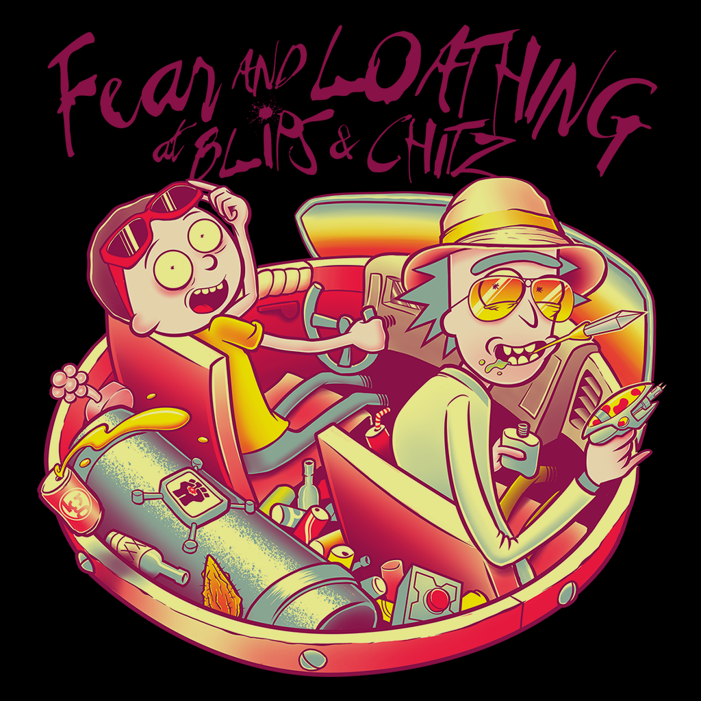 Pop-Up Tee: Fear and Loathing at Blips & Chitz