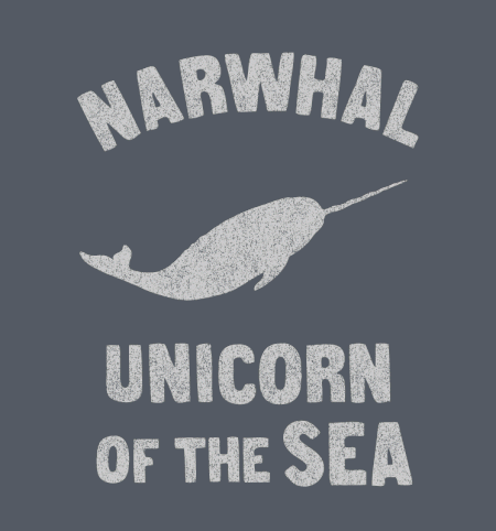 BustedTees: Narwhals