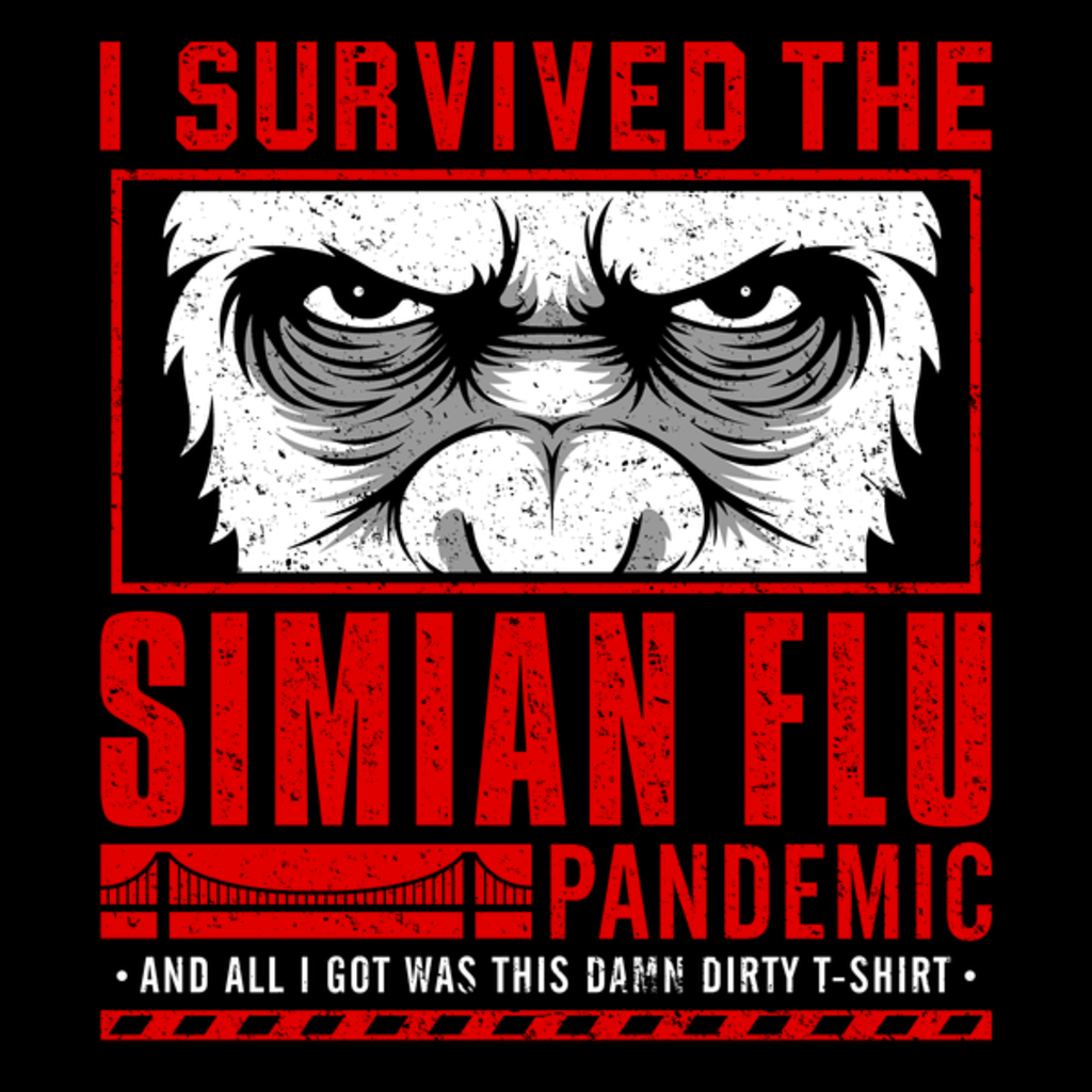 NeatoShop: I Survived the Simian Flu