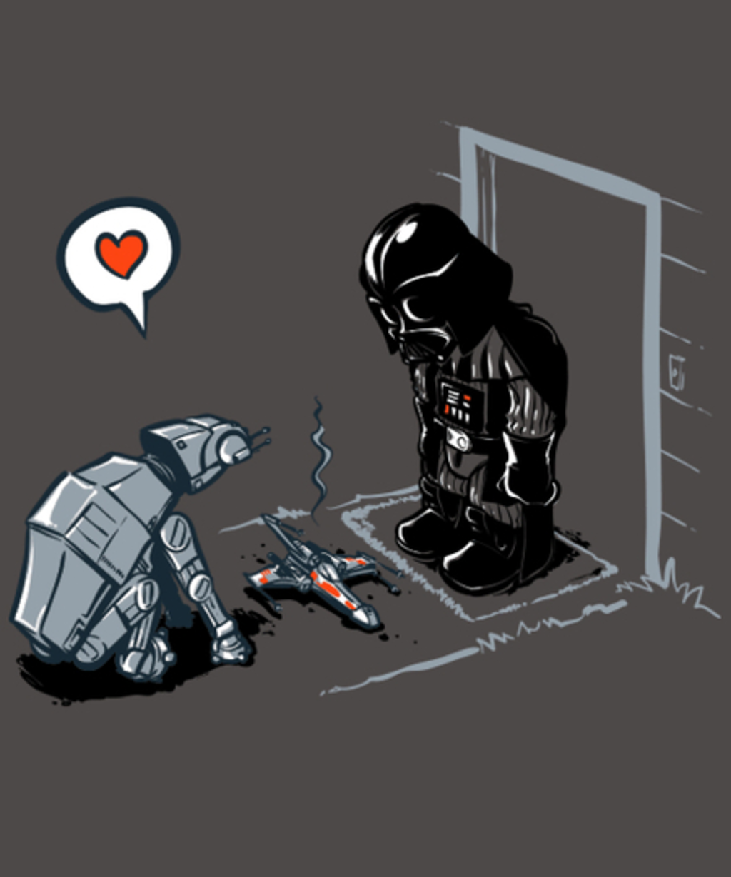 Qwertee: Cat-At Loves You!