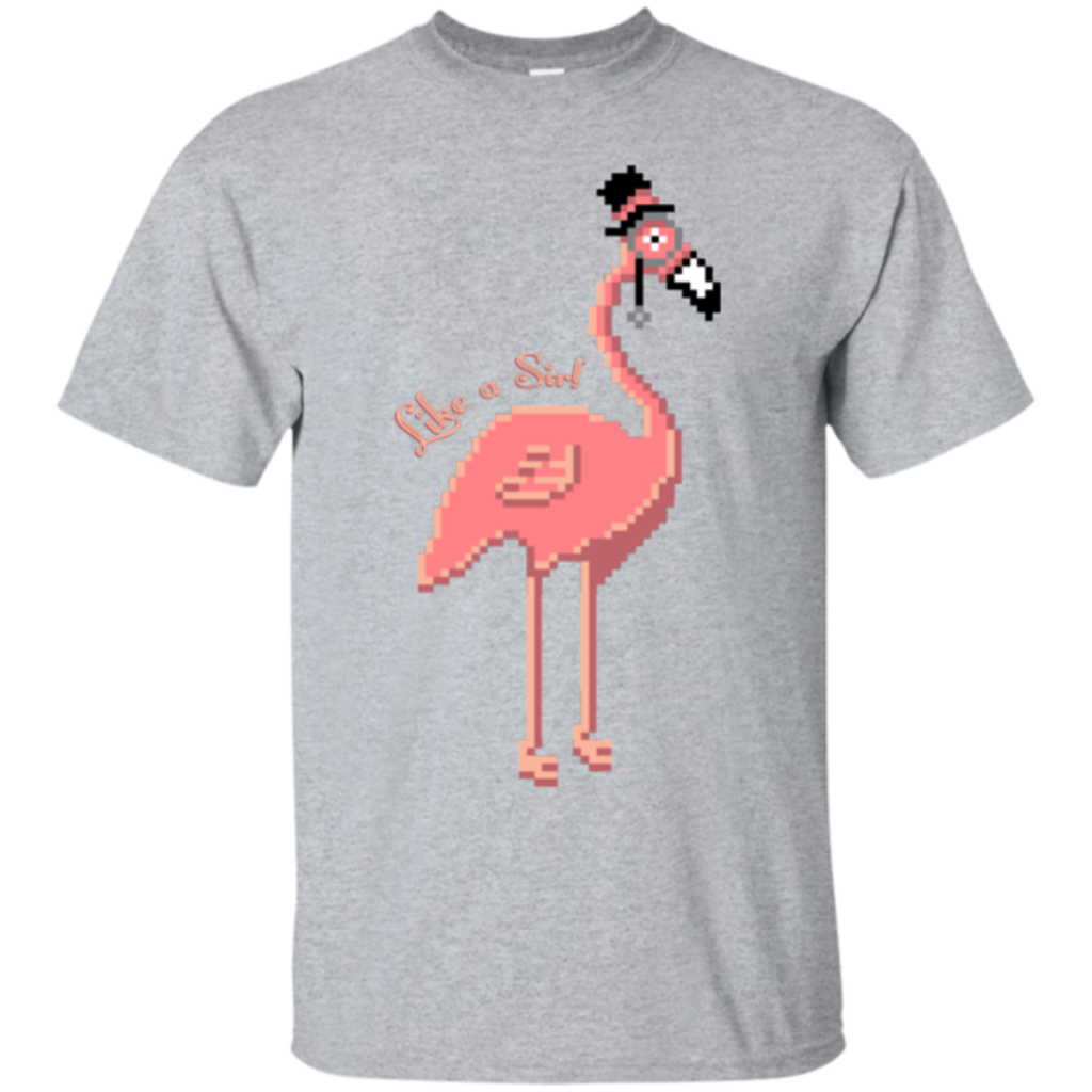 Pop-Up Tee: LikeASir Flamingo