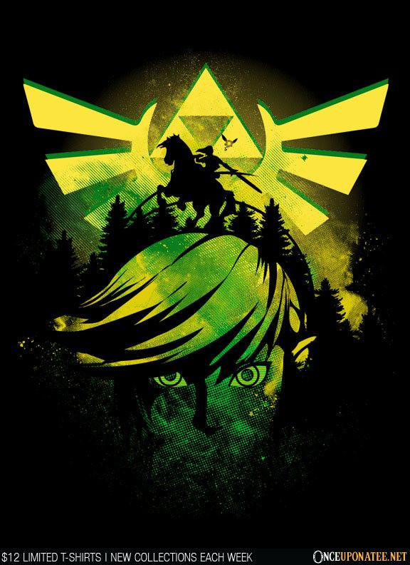 Once Upon a Tee: Hyrule Night