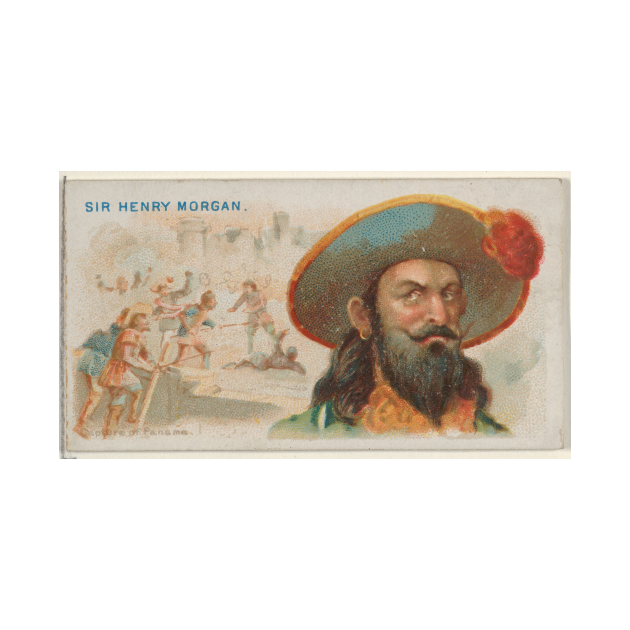 TeePublic: Vintage Henry Morgan the Pirate Illustration (1888)