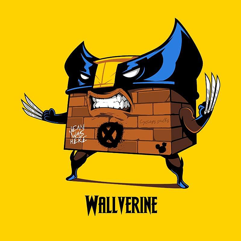 Pampling: Wallverine