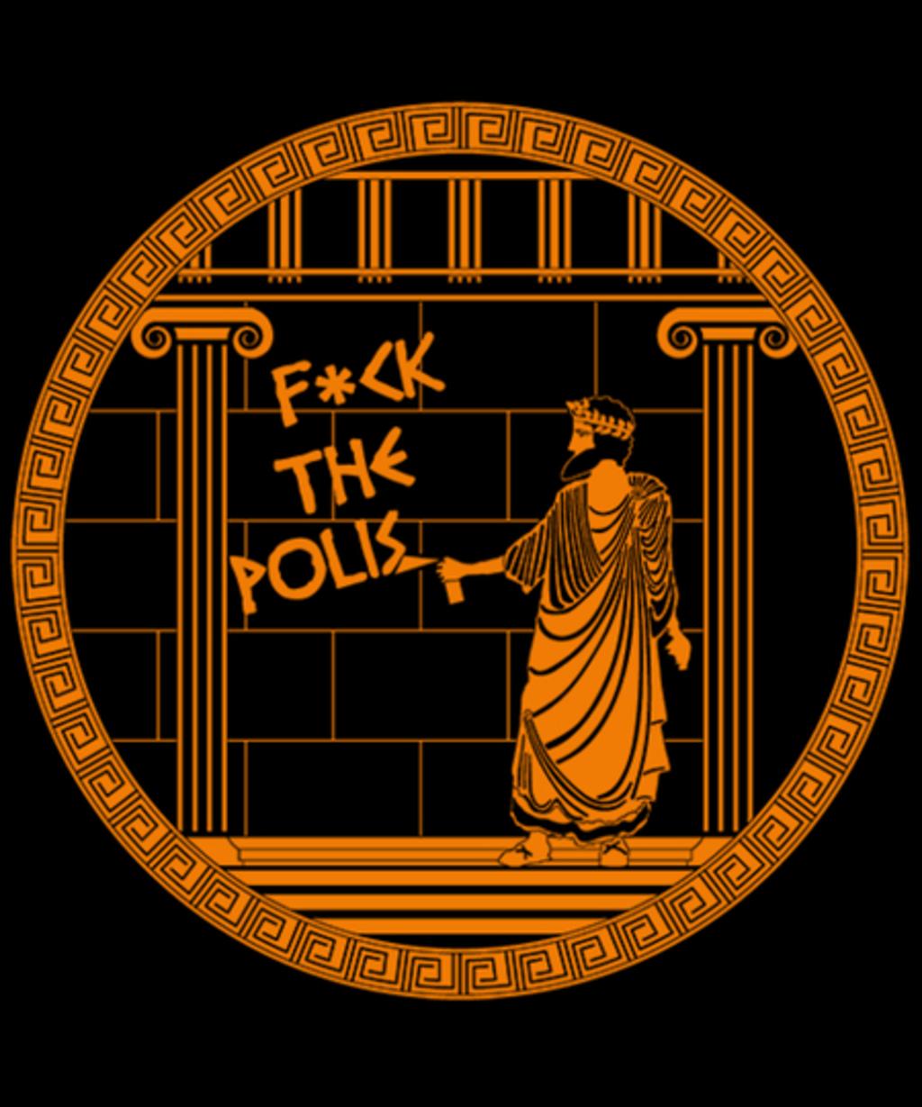 Qwertee: F*ck the polis