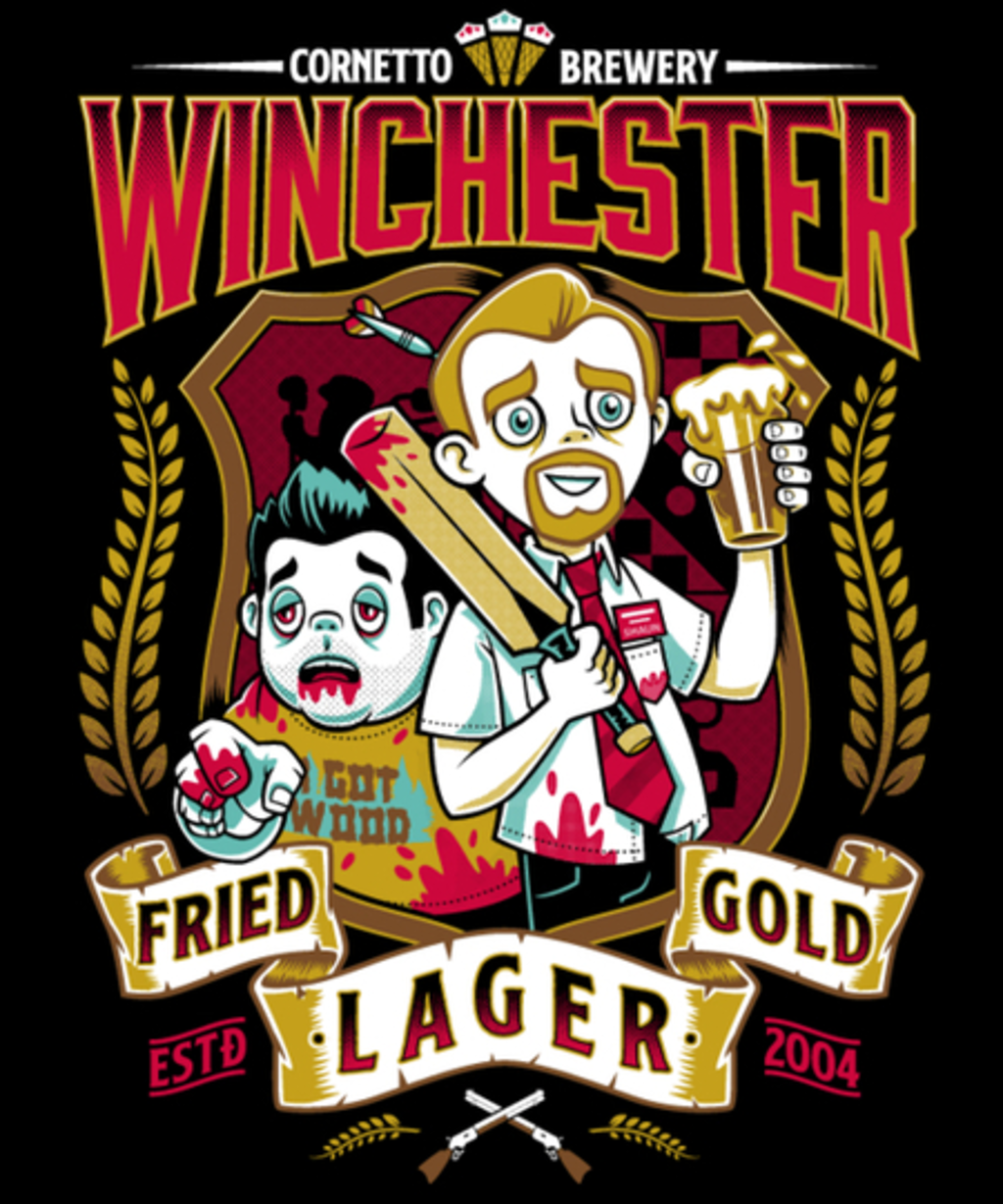 Qwertee: Fried Gold Lager