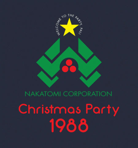 BustedTees: Nakatomi Christmas Party 1988