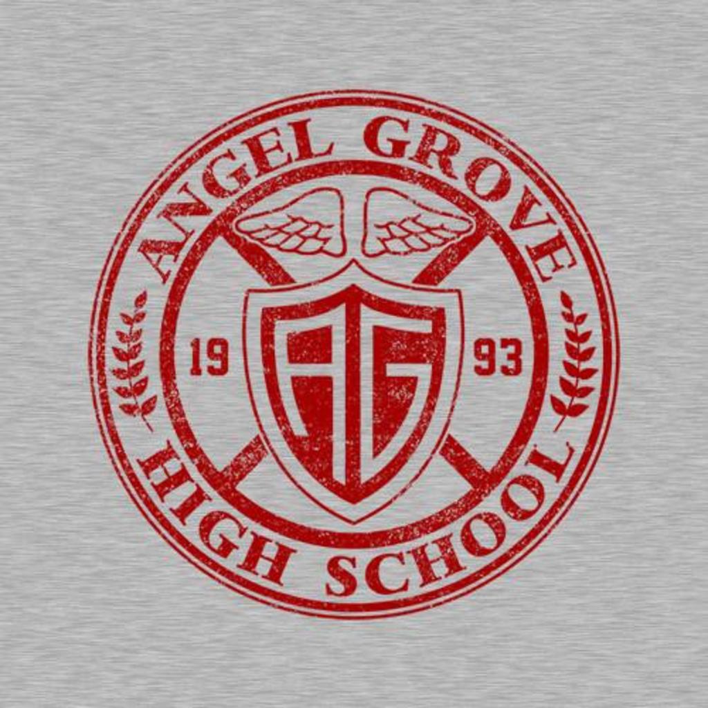 Five Finger Tees: Angel Grove High School T-Shirt