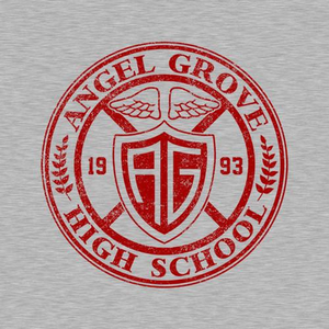 Five Finger Tees: Angel Grove High School T-Shirt
