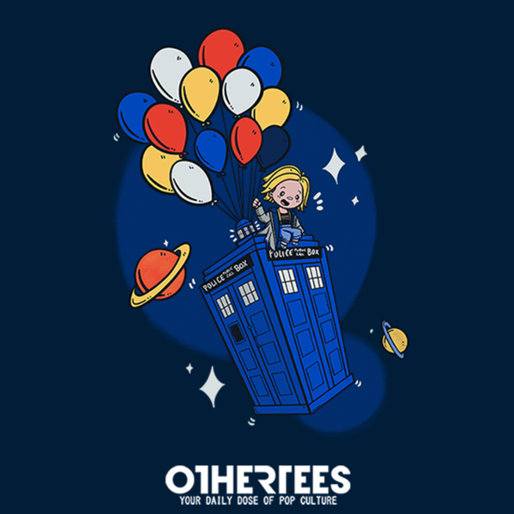 OtherTees: Flying Who